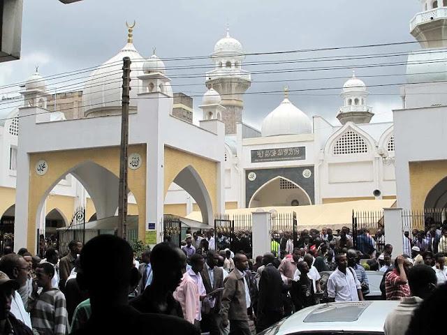 Jamia Mosque in Nairobi.