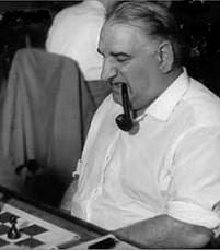 El ajedrecista José Sanz Aguado
