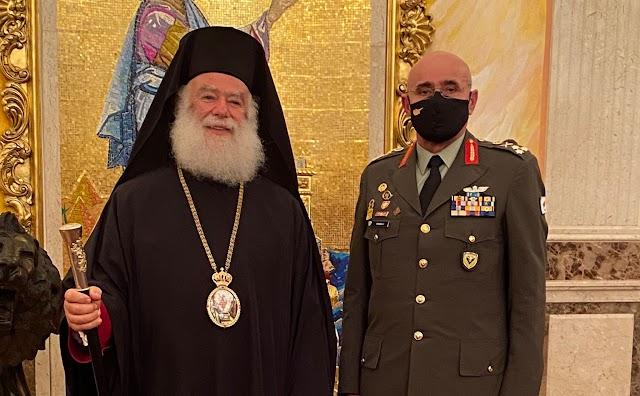 Δυο Κρήτες μαζί ...ευλογία από τον Πατριάρχη (ΦΩΤΟ)