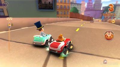 加菲貓卡丁車(Garfield Kart)硬碟綠色免安裝版,可愛賽車老遊戲下載!