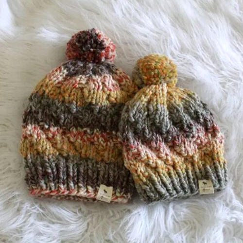The Spiral Beanie - Free Knitting Pattern