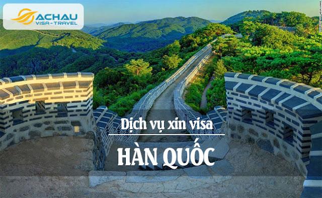 chuẩn bị thủ tục xin visa Hàn Quốc