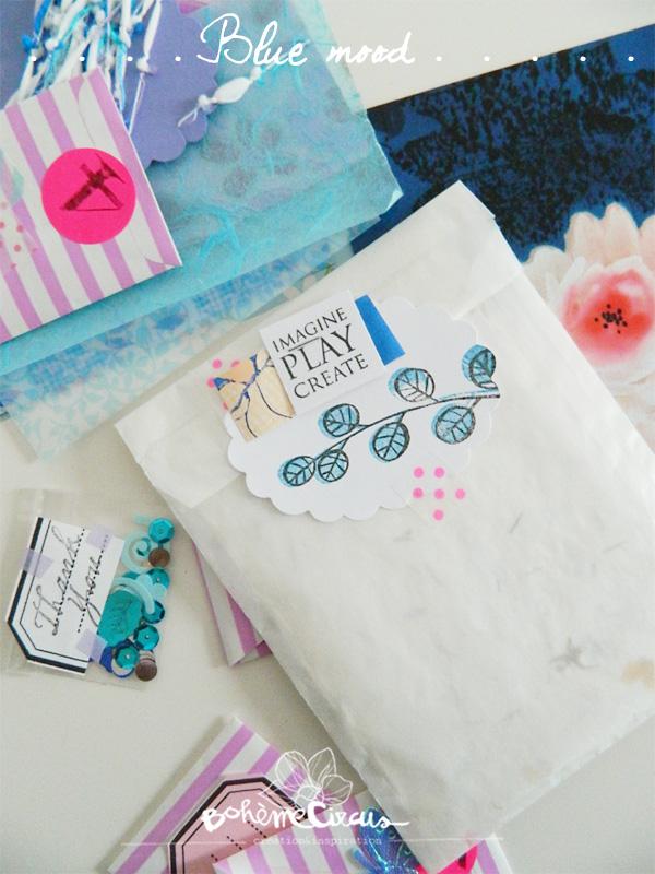 inspiration  - creativity - créativité - bohème circus  -  happy mail