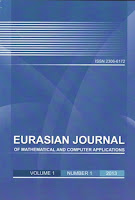 Eurasian Journal of Mathematical and Computer Applications