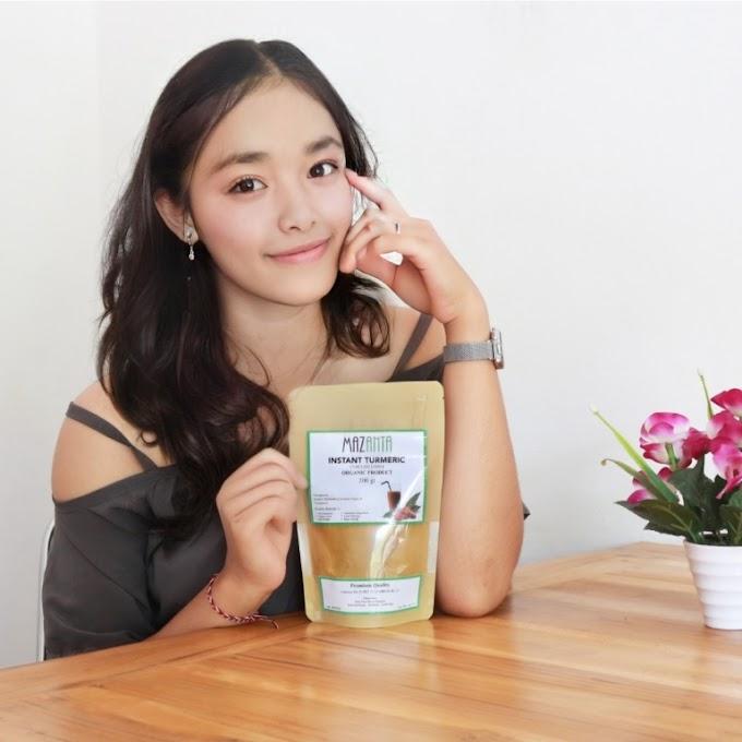 Mazanta Instant Turmeric Drink – Jamu Kunyit Organik untuk Kesehatan Anda