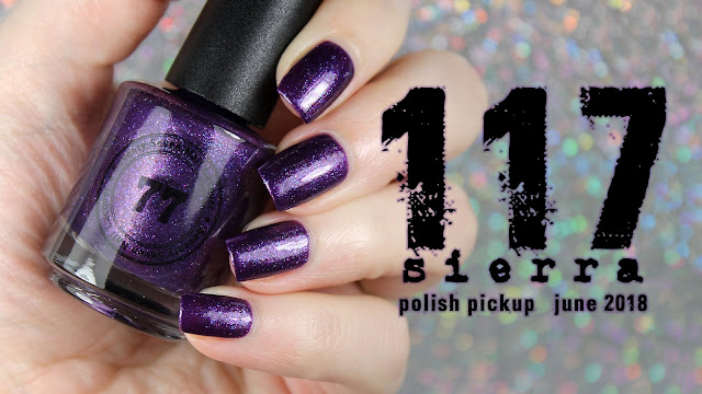 Seventy Seven Nail Lacquer Sierra 117 | Polish Pickup June 2018 | Video Games