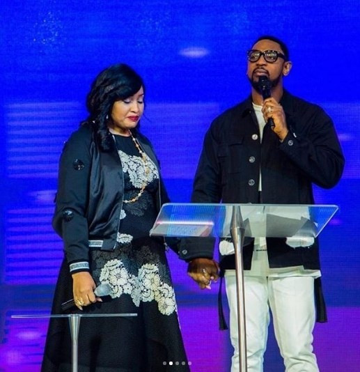 Here's What Modele Fatoyinbo, Wife of Pastor Biodun Fatoyinbo Said at the Church Service Yesterday