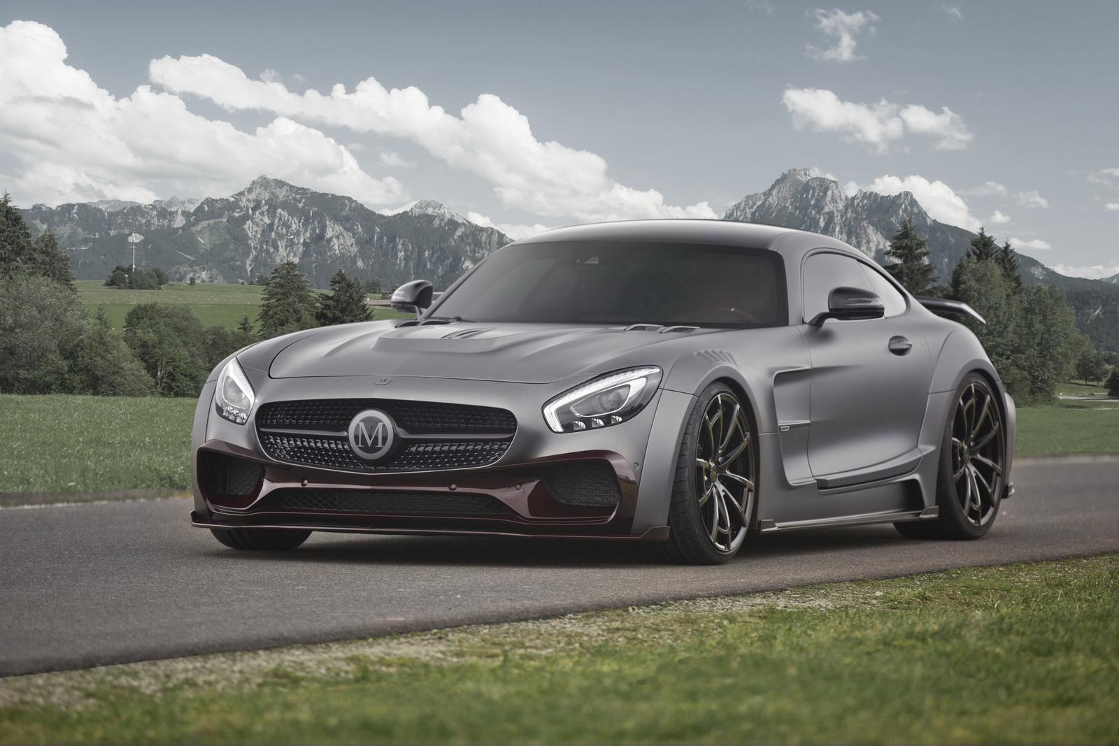 Mansory độ Mercedes-AMG GT S lên 720 mã lực