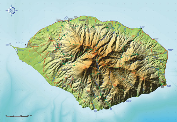 SAMOTHRAKİ MAP