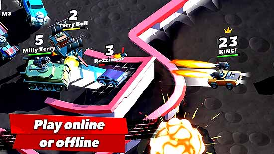 Crash of Cars Mod Apk Download