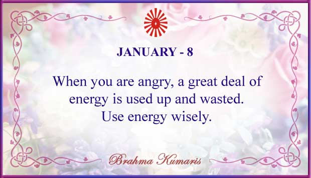 Thought For The Day January 8