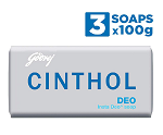 Cinthol Soap (Pack of 3) for Rs.61  [MRP Rs.99]