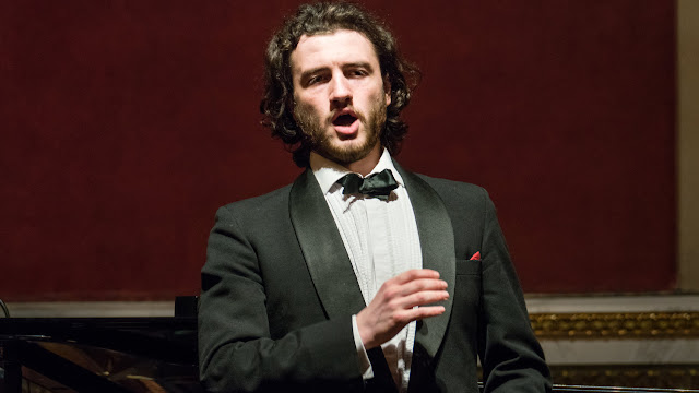 Michael Mofidian performing at the Classical Opera and the Mozartists Gala Concert, Goldsmiths' Hall. Photo credit Roger Way