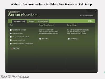 Webroot SecureAnywhere AntiVirus Free Download Full Setup