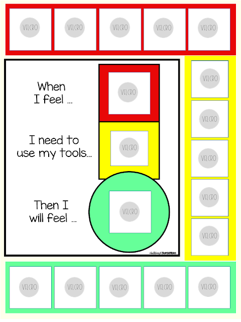 visual aids and supports for the special needs classroom and autism
