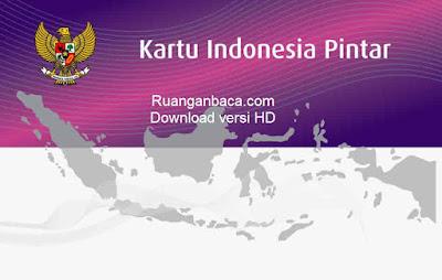 template belakang kartu indonesia pintar