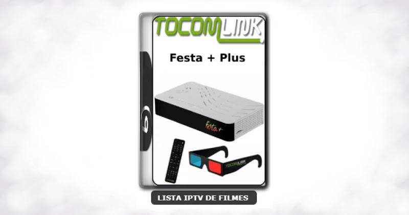 Tocomlink Festa + Plus Nova Atualização Satélite SKS Keys 61w ON V1.37