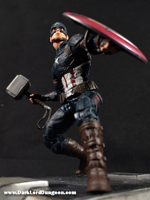 Avengers Endgame Worthy Captain America Action Figure