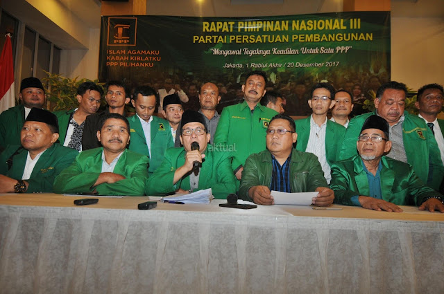 Gegara Ini PPP Kubu Djan Faridz Tinggalkan Jokowi