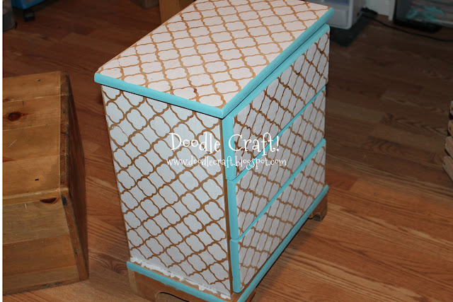 Box - Stenciling And Staining