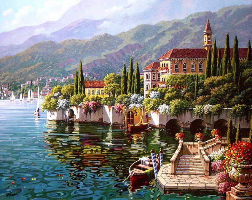 Imágenes Arte Pinturas Paisajes Andaluces Pinturas De Bob Pejman
