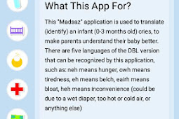 Madsaz Cry Baby Translator Application