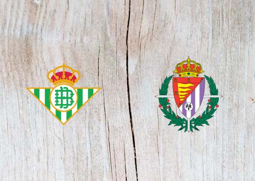 Real Betis vs Real Valladolid -  Highlights 21 October 2018