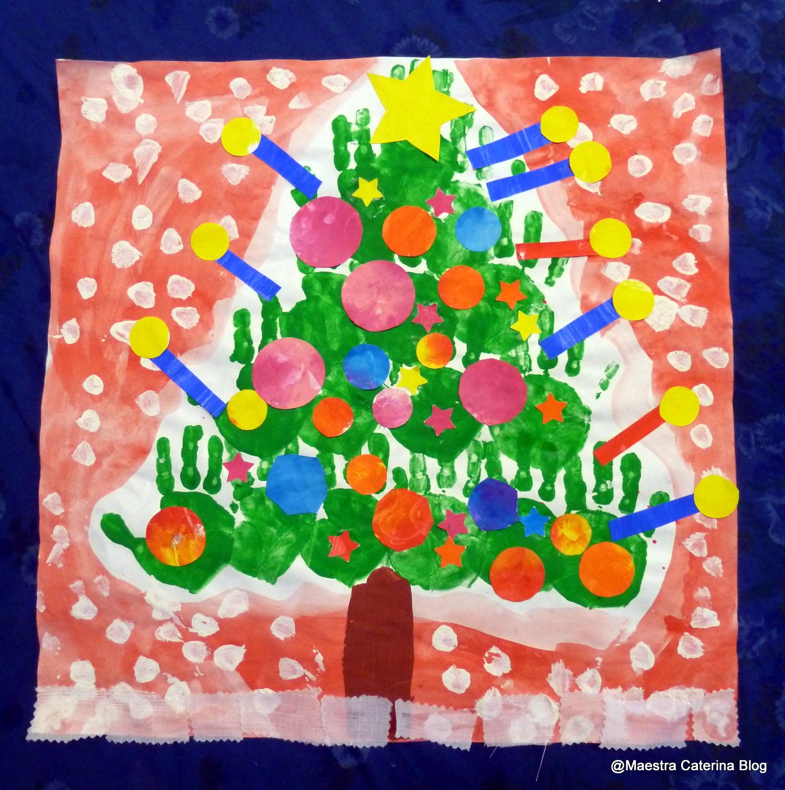 Maestra caterina alberi di natale for Maestra caterina natale