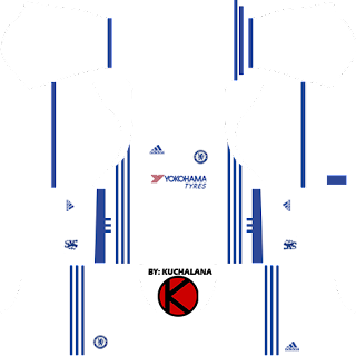 Chelsea Kits 2016/2017 - Dream League Soccer 2017