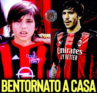 Sandro Tonali Gelandang Baru AC Milan -IGmalinconiarossonera