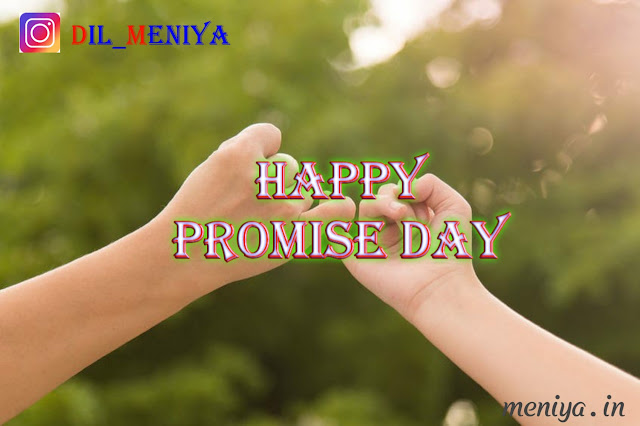 Happy Promise Day HD Pic