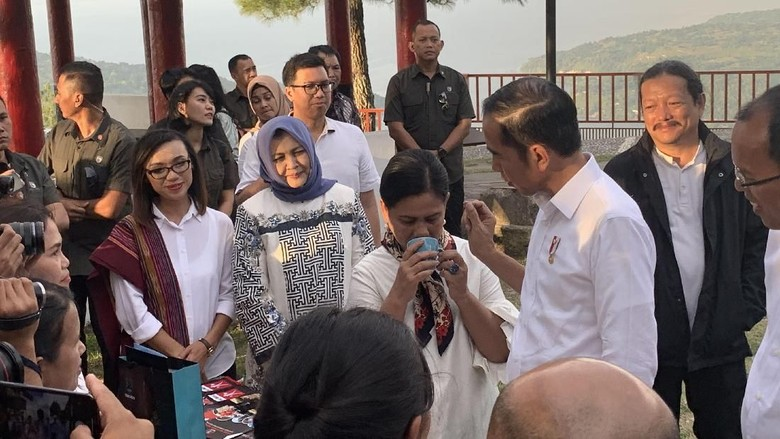 Jokowi Dorong Destinasi Wisata di Danau Toba Berkelas Super