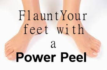 Eclectic Red Barn: Power Peel for your feet