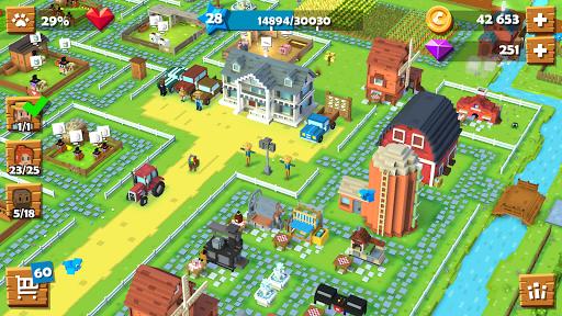 تحميل لعبة المزرعة Blocky Farm v1.2.53 مهكرة للاندرويد ألماس + نقود لا نهاية اخر اصدار