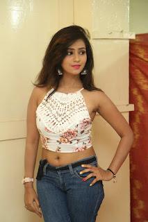 Deekshita Parvathi in a short crop top and Denim Jeans Spicy Pics Beautiful Actress Deekshita Parvathi January 2017 CelebxNext (15).JPG