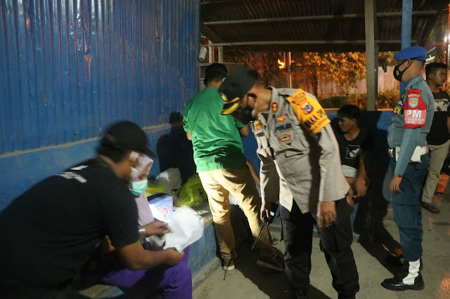Lakukan Penyekatan di Dua Titik, Satgas Covid-19 Gelar Operasi Yustisi Kota Jayapura