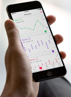 The dashboard of Apple's HealthKit monitoring program