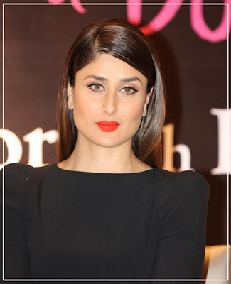 Kareena Kapoor Khan/ orange lipcolor/ orange lipstick