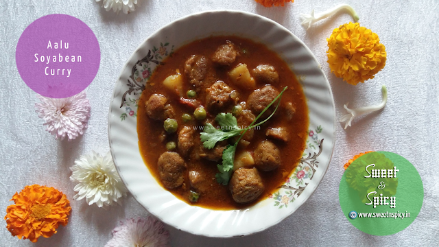 Aalu Soyabean Curry