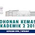 Permohonan UiTM 2016-2017 Online Sesi Akademik 2