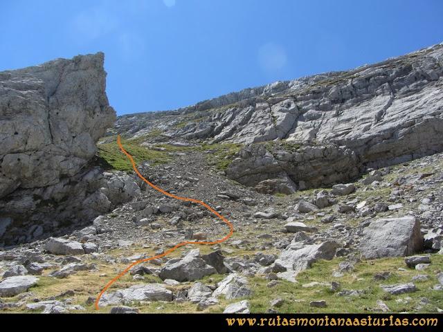 Ruta Peña Castil y Cueva del Hielo: Desde el Collado Camburero a la cueva de hielo