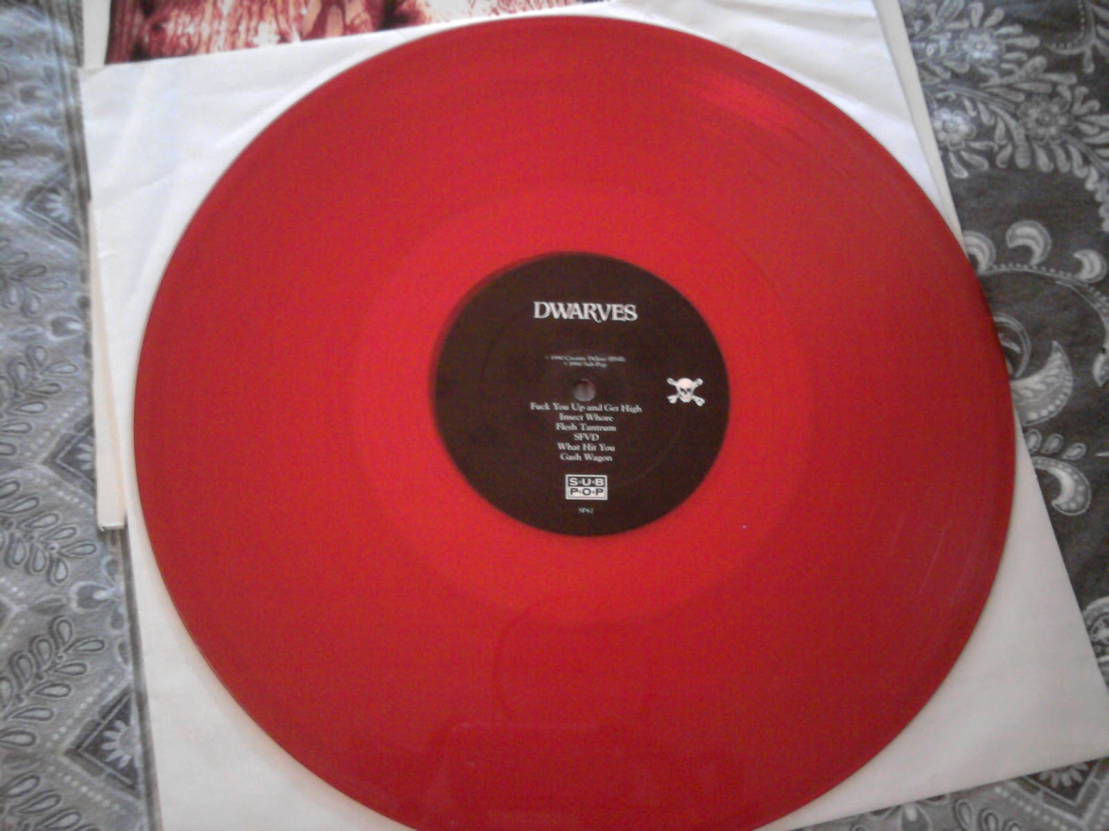 Snagged A Sweet Red Vinyl Dwarfs Record