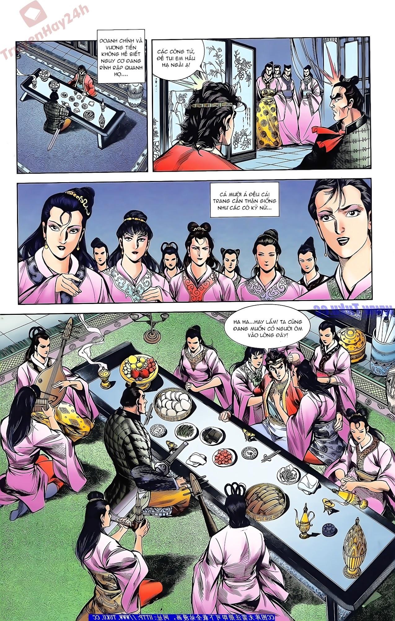 Tần Vương Doanh Chính chapter 43 trang 4