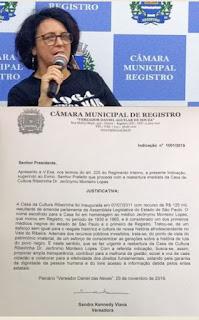 Dia da Consciência Negra: Sandra Kennedy exige reabertura da Casa de Cultura Ribeirinha