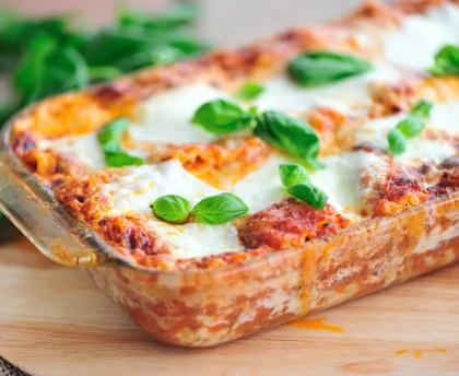Lasagnes PestoMozza