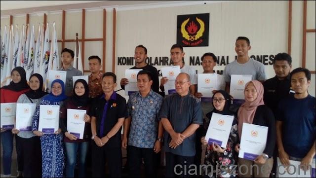 KONI Berikan Beasiswa kepada Atlet Berprestasi Rp43 Juta