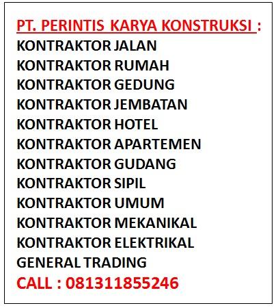 Daftar Perusahaan Jasa Konstruksi
