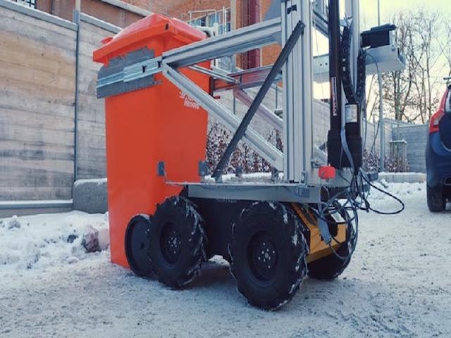 Gambar Robot Based Autonomous Refuse / Robot Tukang Sampah