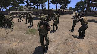 Arma3用タイ国軍MODの歩兵ユニット