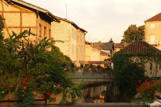 I canali e i ponti di Chatillon sur Chalaronne
